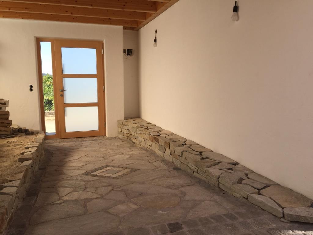 Terassenplatten und Mauersteine