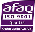 Welience Agro-Environnement est certifié ISO 9001 par l'organisme de certification AFNOR