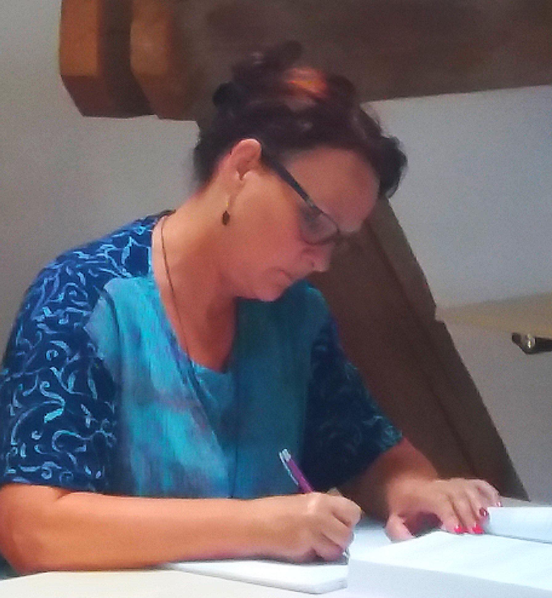 """Michaela Ploberger, Regau: """"Danke Martin!!! Es kribbelt jetzt richtig in meinen Fingern. Bis zum 2-Tages-Seminar!"""""""