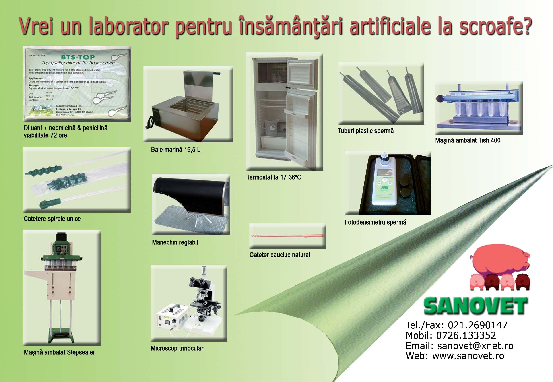 Laborator complet insamantari artificialee