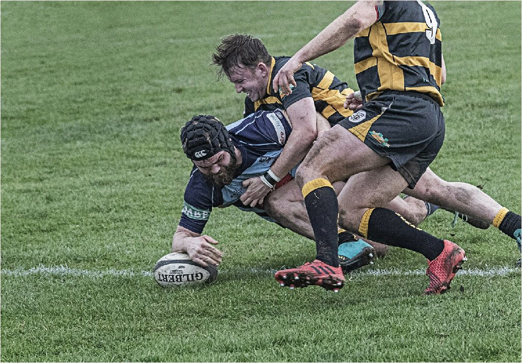 Commended: Scoring a Try (Roger Paxton)