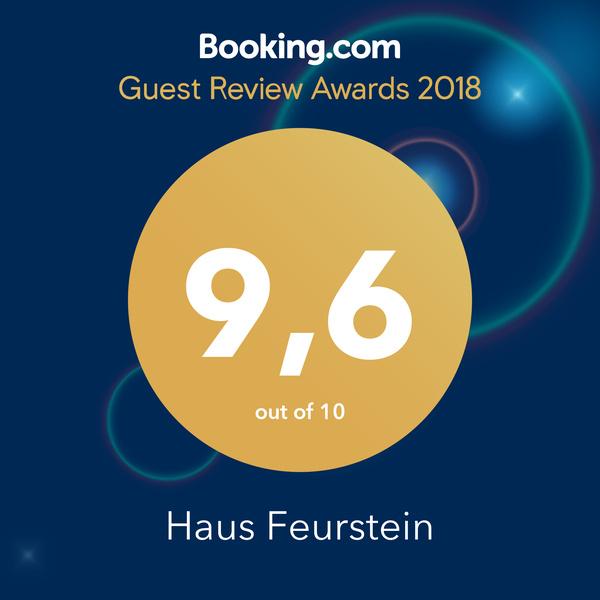 Vielen Dank an unsere Gäste von booking.com für die tolle Bewertung! #guestsloveus