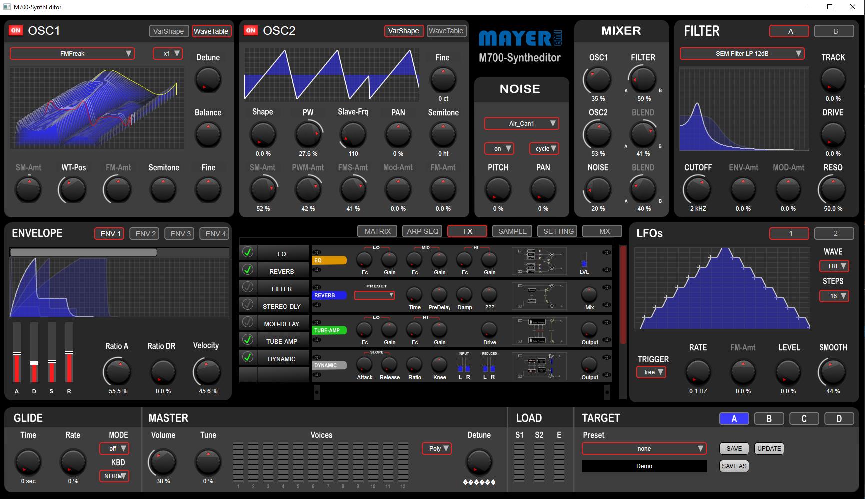 M700 SynthEditor V1