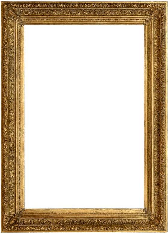 19 C. Guilded Frame - H130x92x7 cm