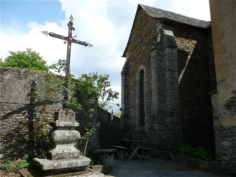 Saint Marcel - von hier führt der Weg abwärts nach Conques