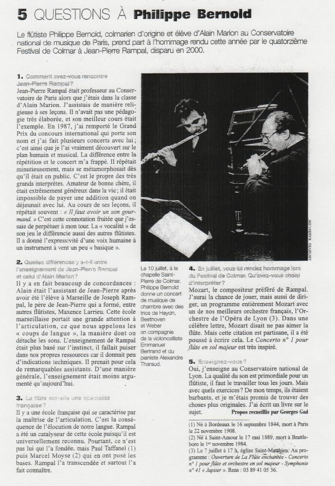 Le Monde de la Musique (2002)