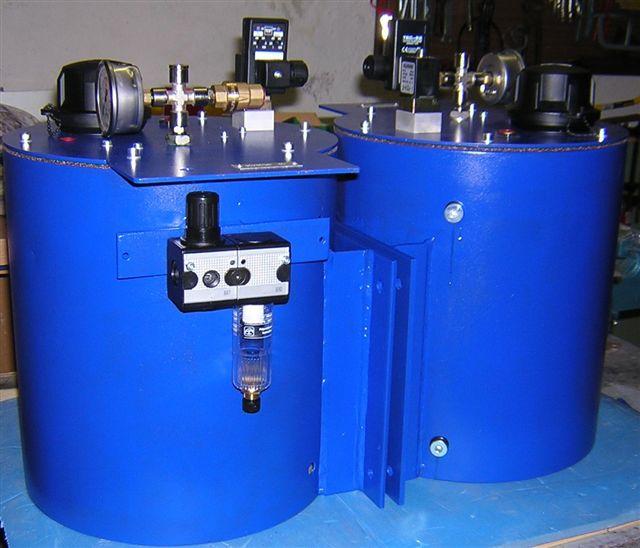 Agentur AC - pneumatisch gesteuerter Öler