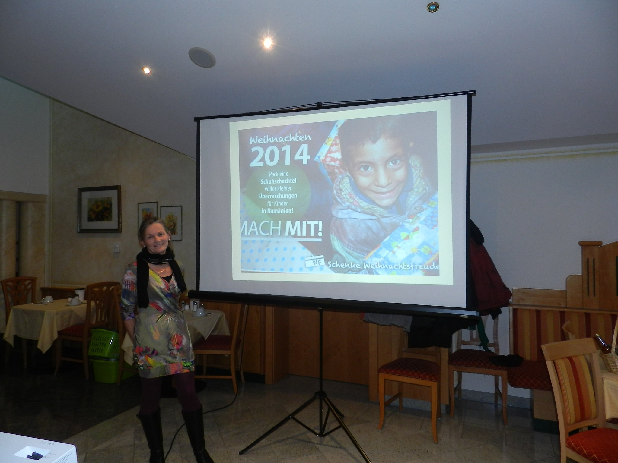 Sutter Ann berichtet von ihrer Spendenaktion für Rumäniens arme Kinder.