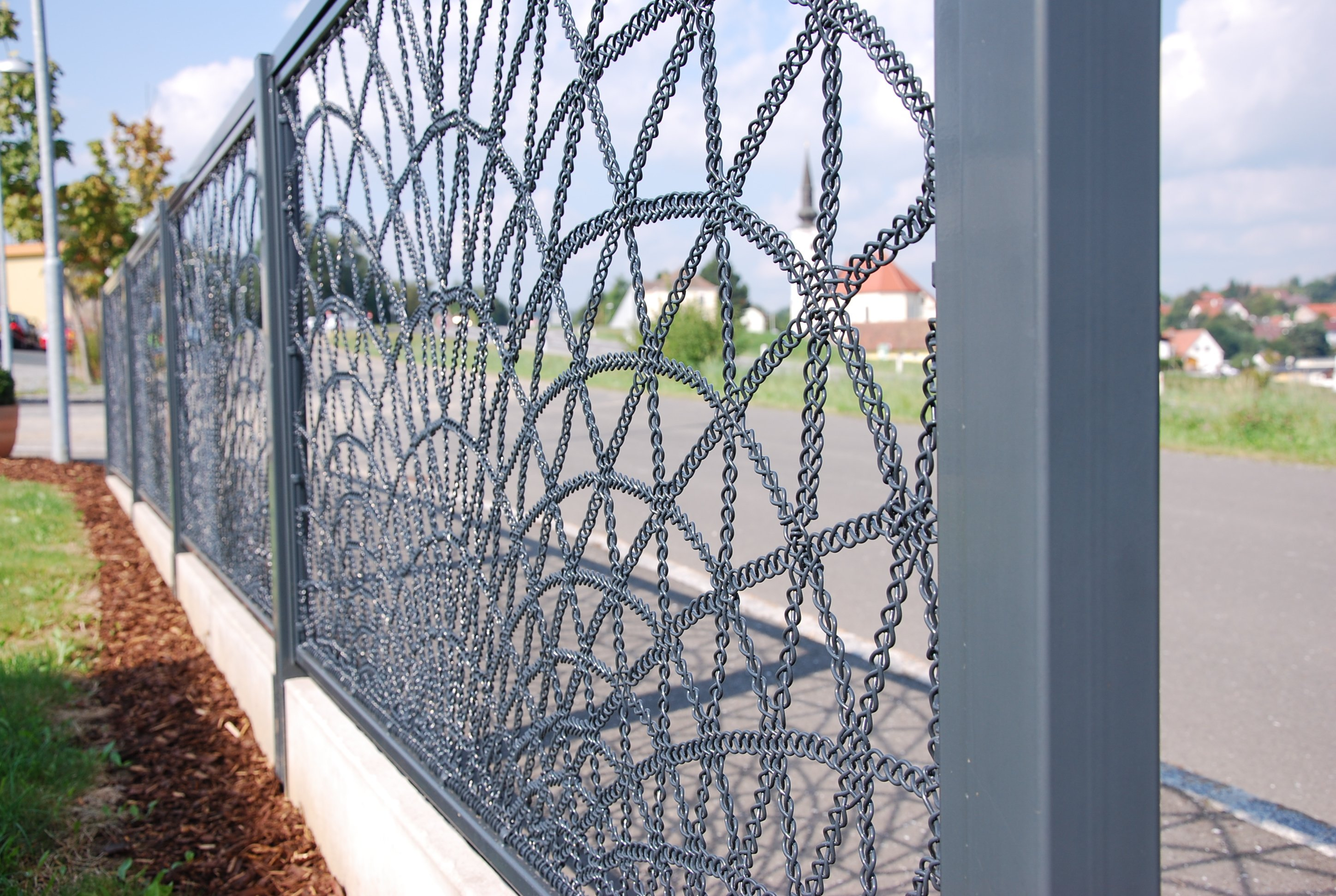 "Lace Fence ""Welle"""