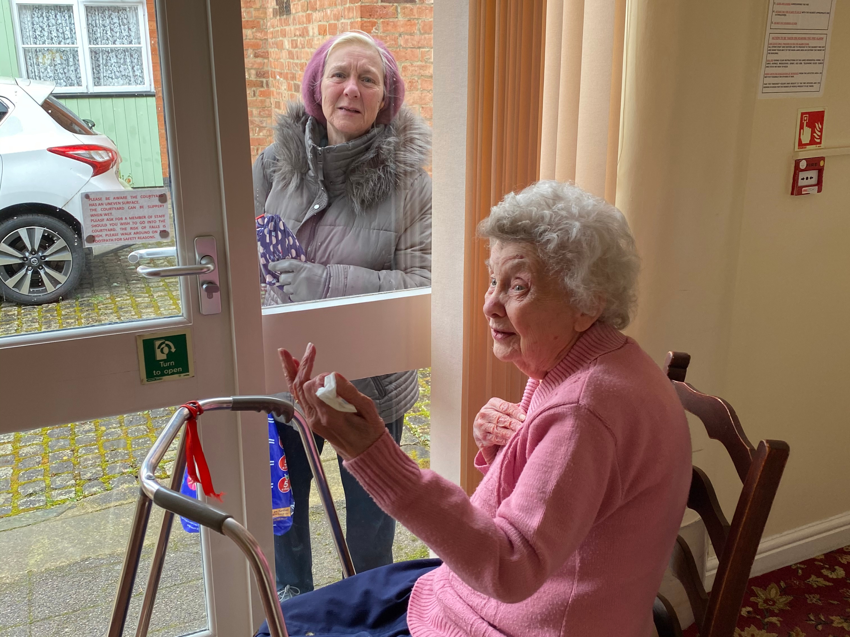 Talking Through The Window - 30.05.20