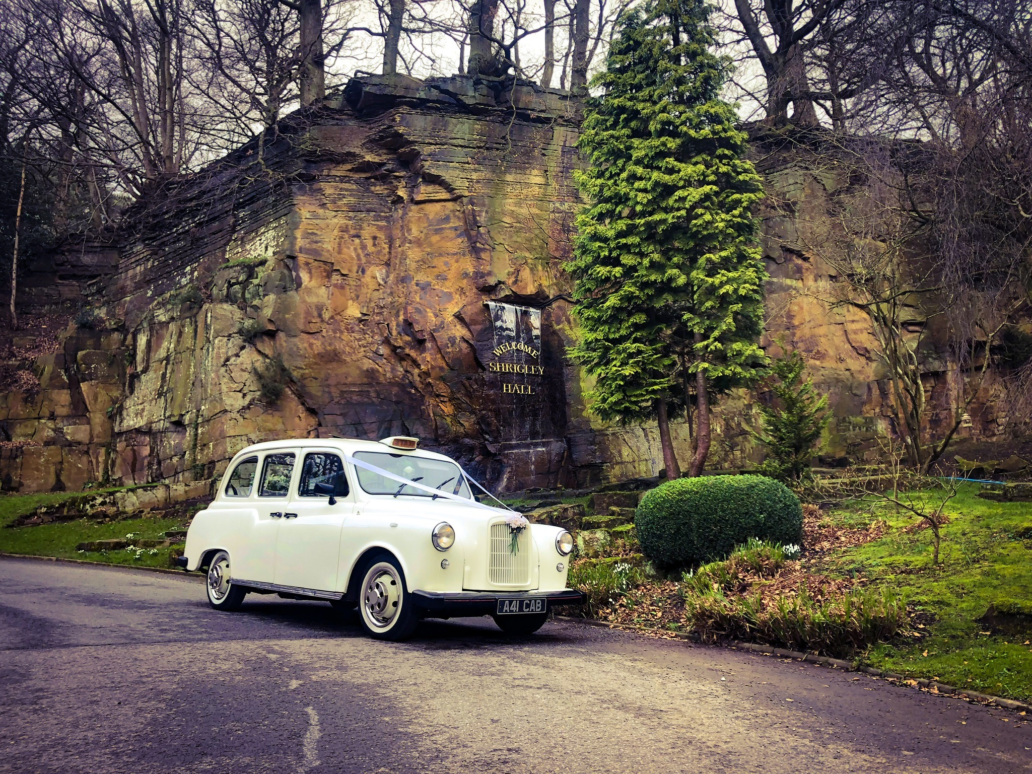 wedding taxi cars Shrigley Hall