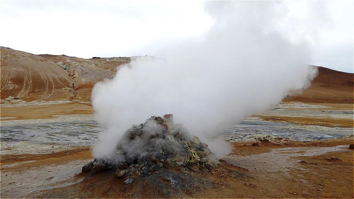 Geothermalfeld Námafjall Hverir