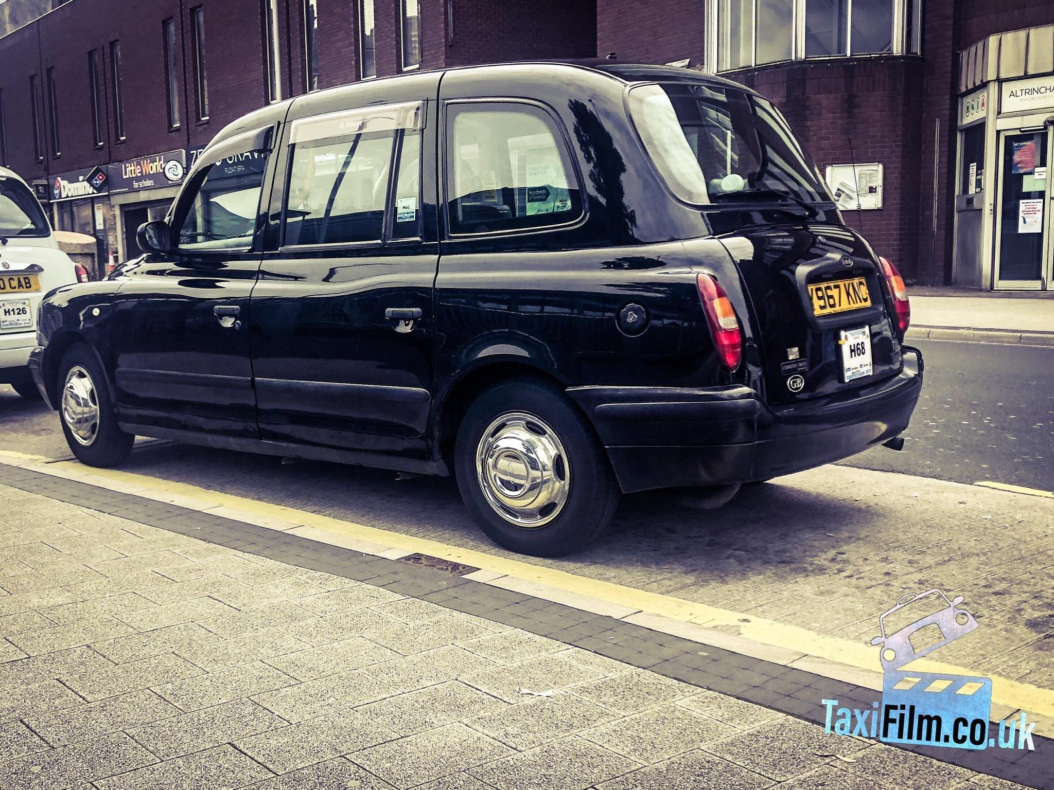 Black Tx1 Taxi, 2001, Manchester ref M0005