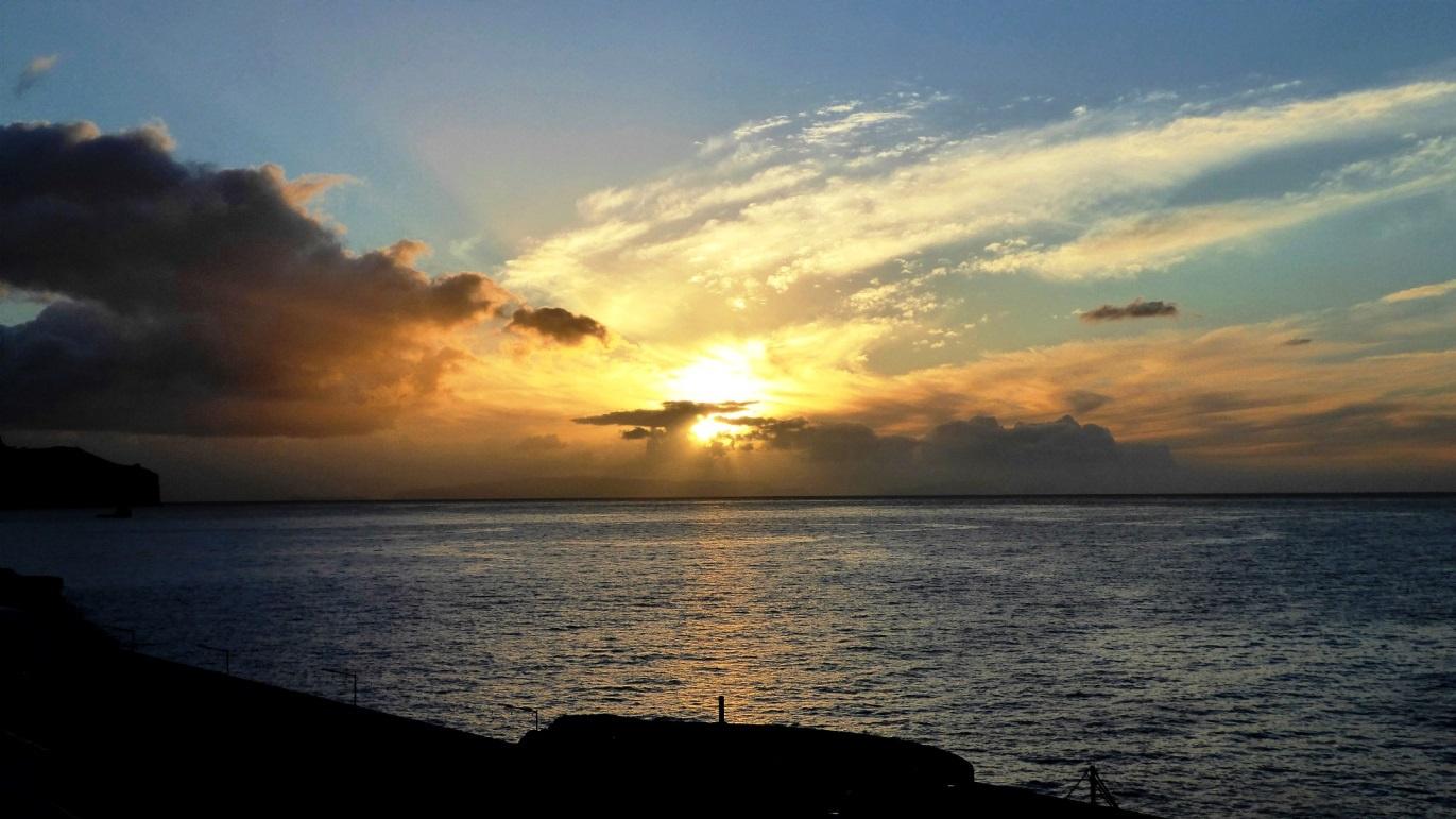 Sonnenaufgang auf Madeira