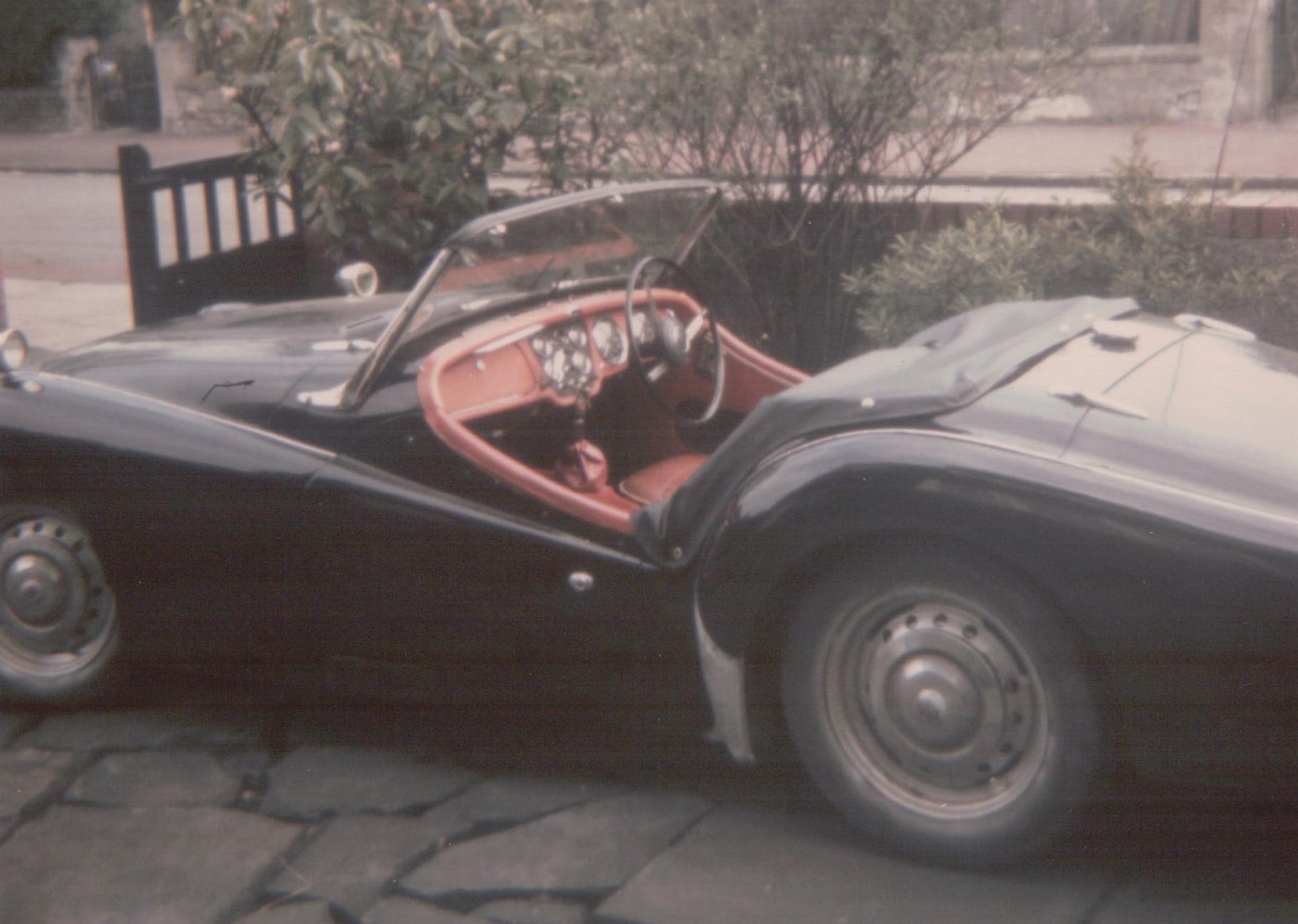 1958 Triumph TR3a Crosby 1970