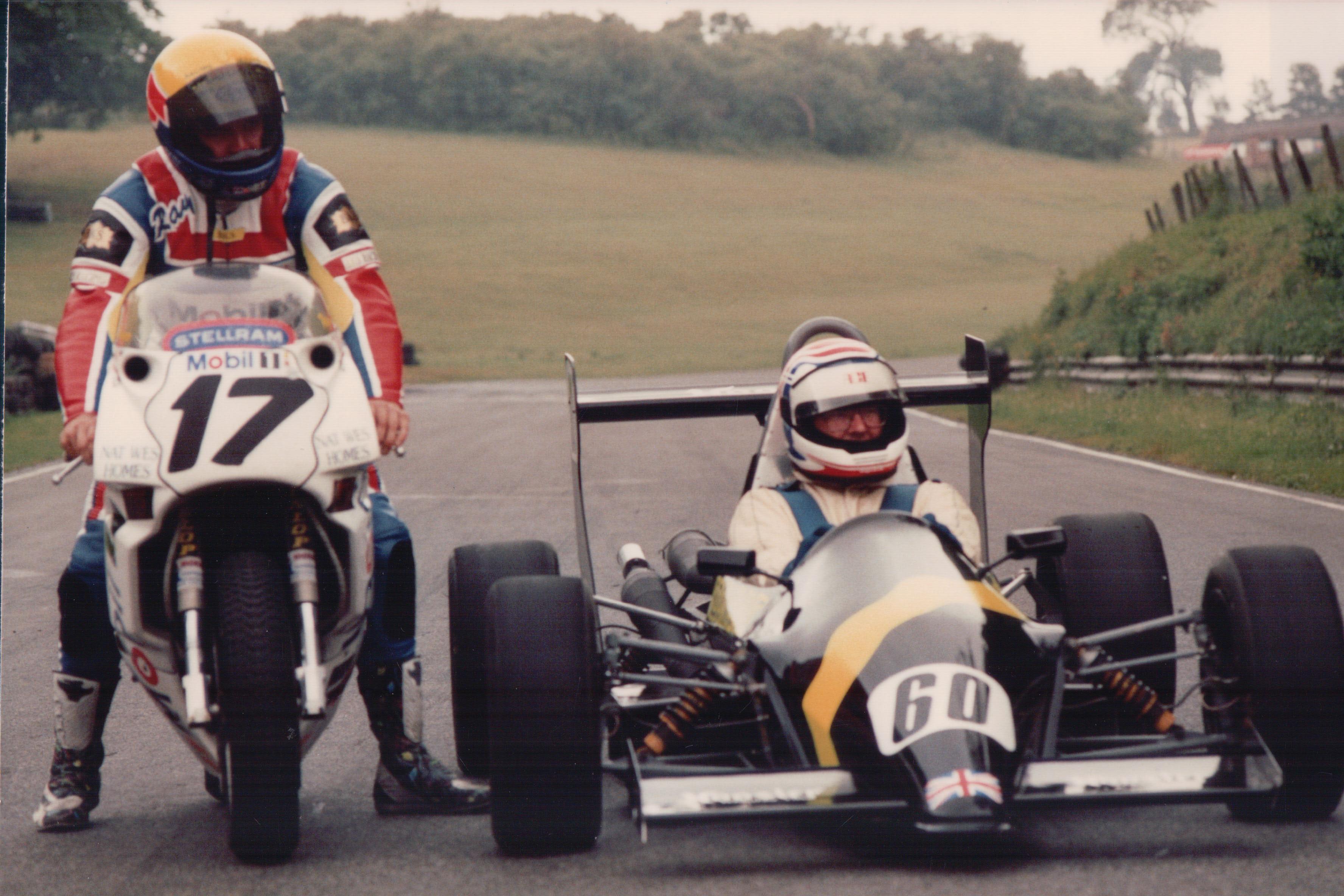 Richard Issitt and Ray Stringer, Cadwell Park 1991