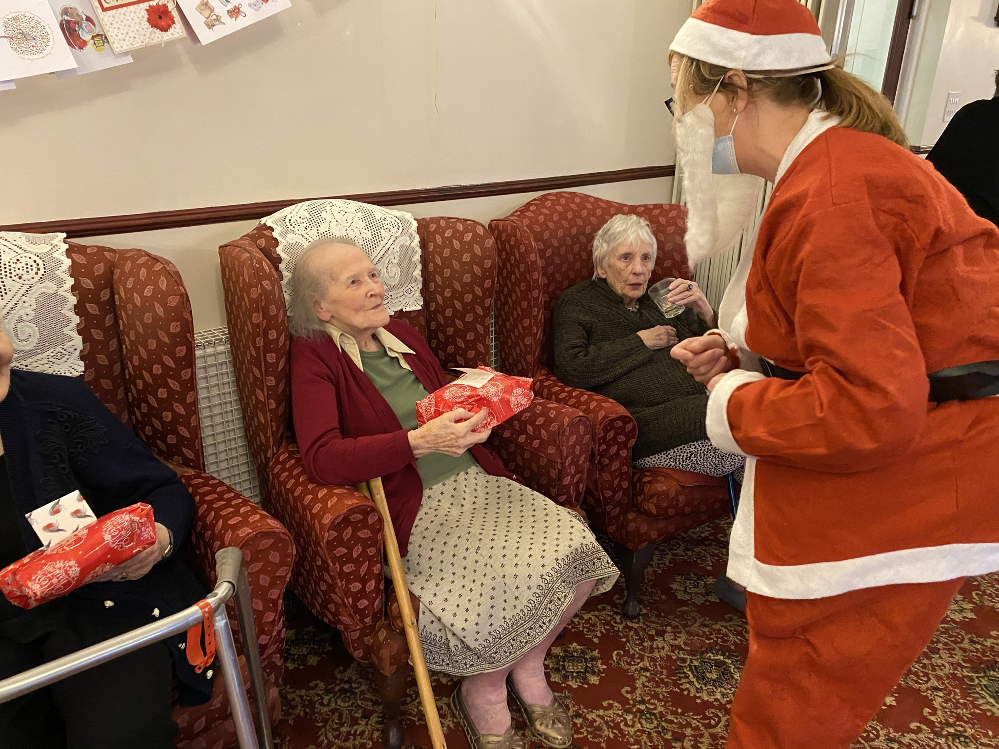 Santa Came to Visit! - 23.12.20 - Please see our Christmas 2020 Page by clicking on the image!