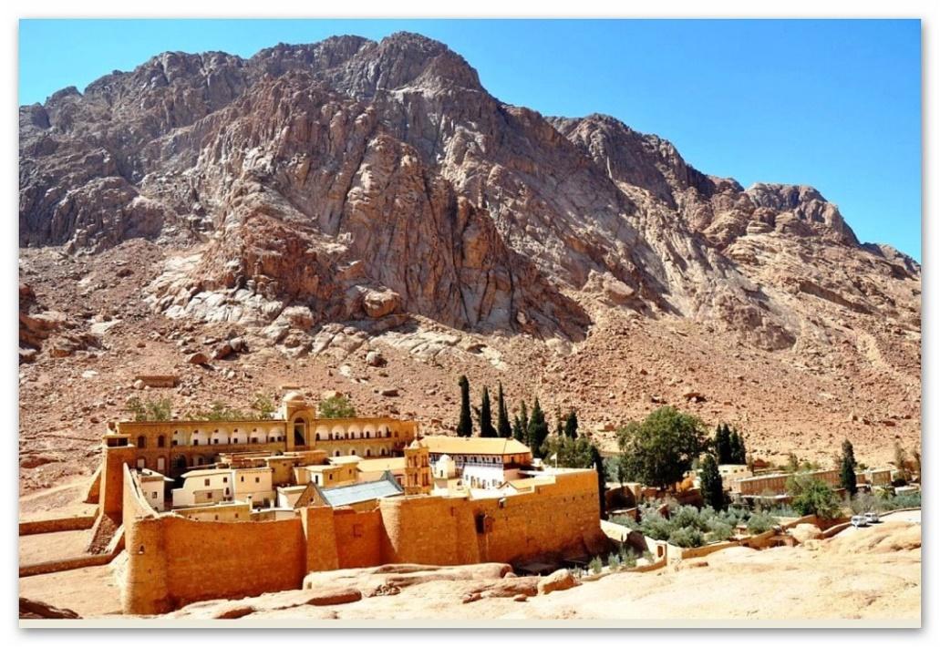 Halbinsel Sinai - Katharinenkloster und Mosesberg