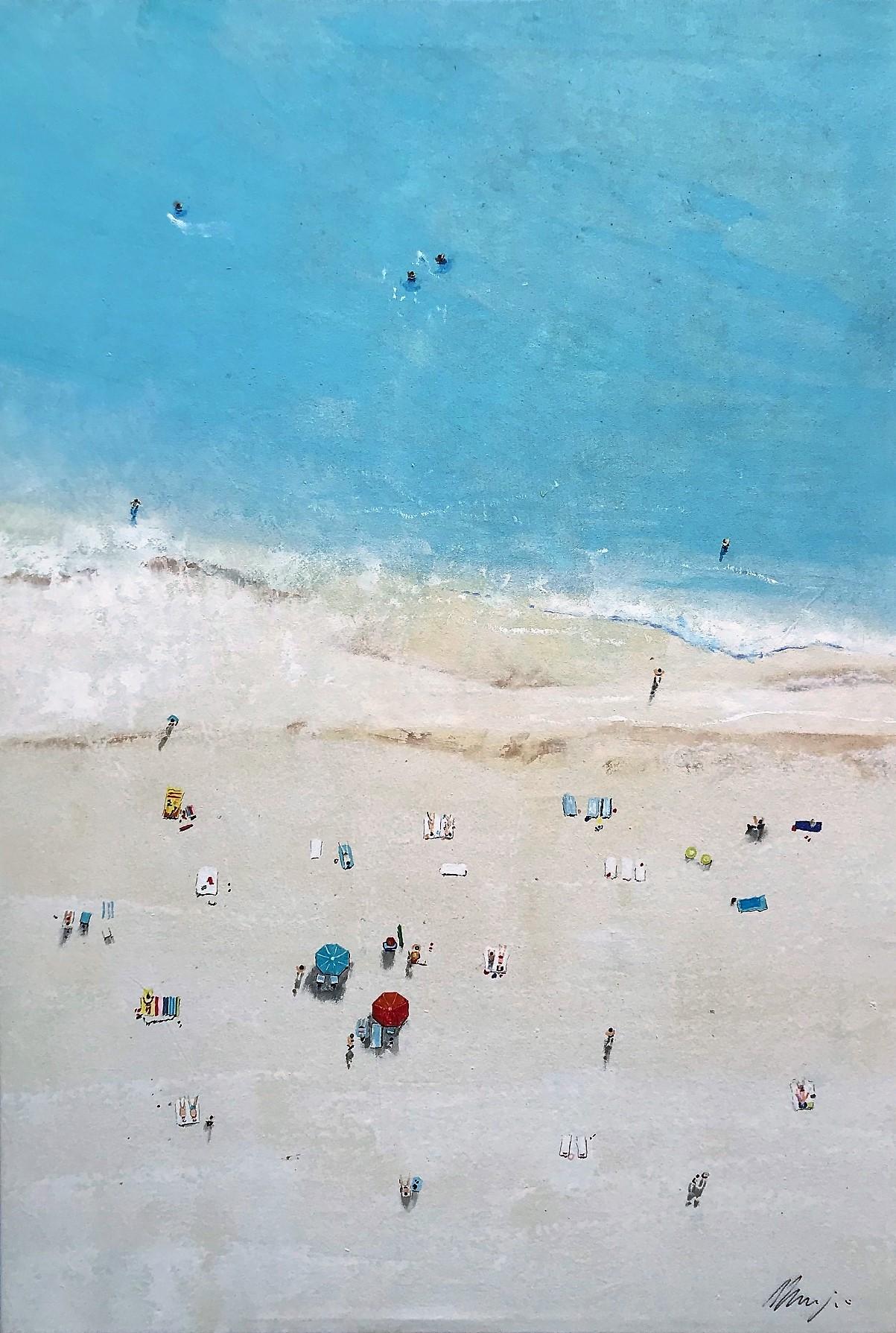 Waikiki Beach (painting galerie art robert deniau mougins)