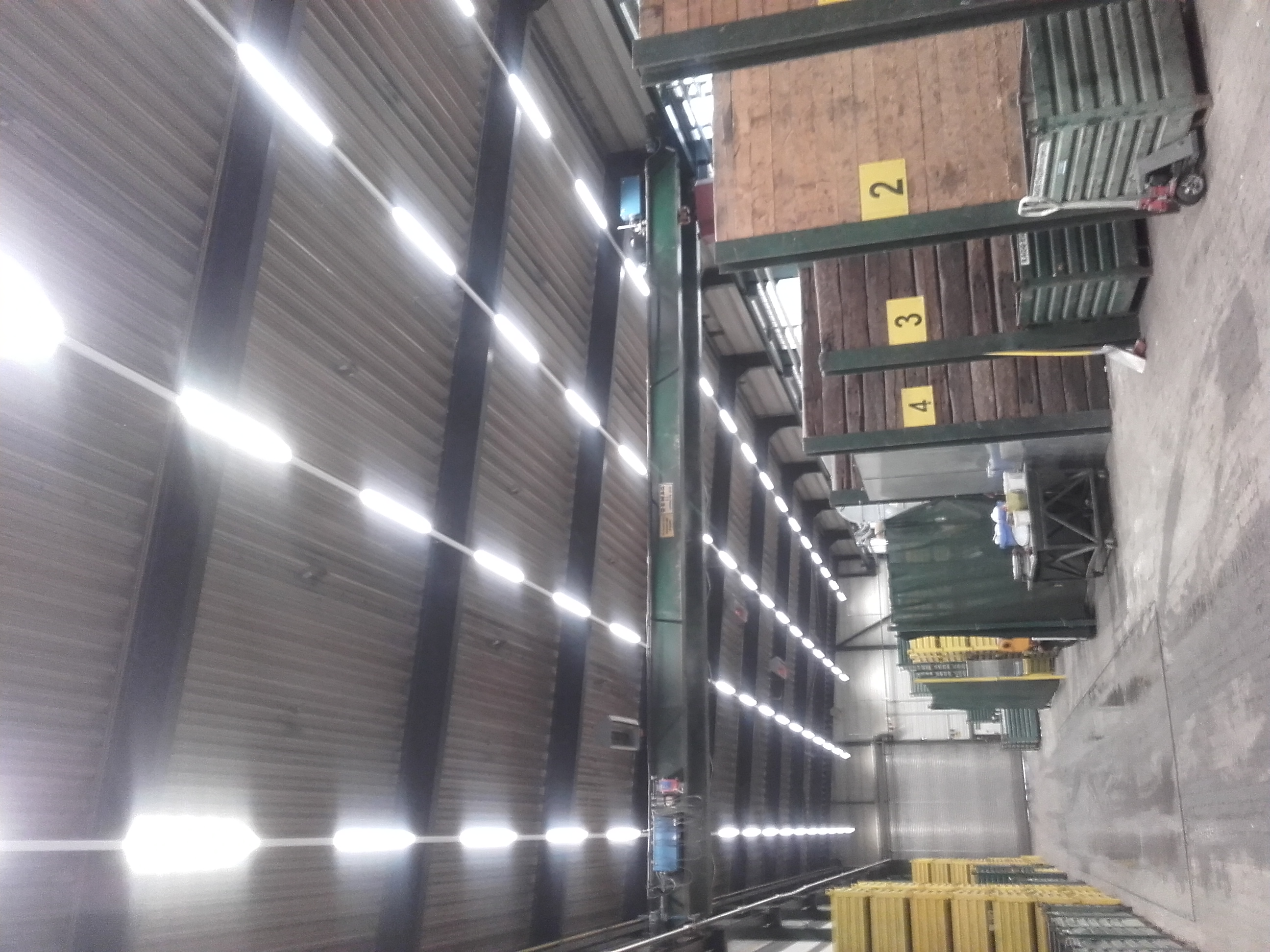 Led Beleuchtung Produktionsbetrieb