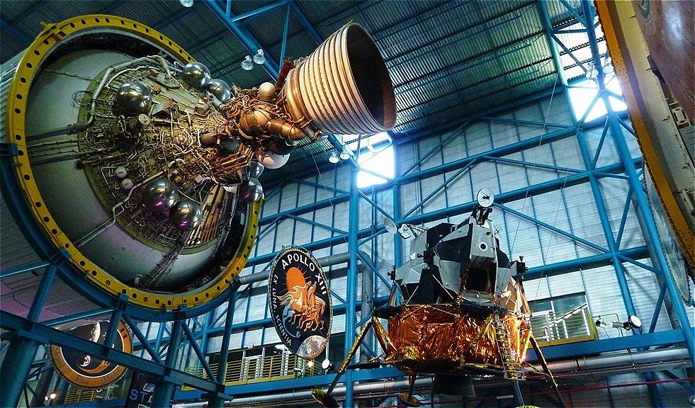 Orbiter und Mondlandefähre