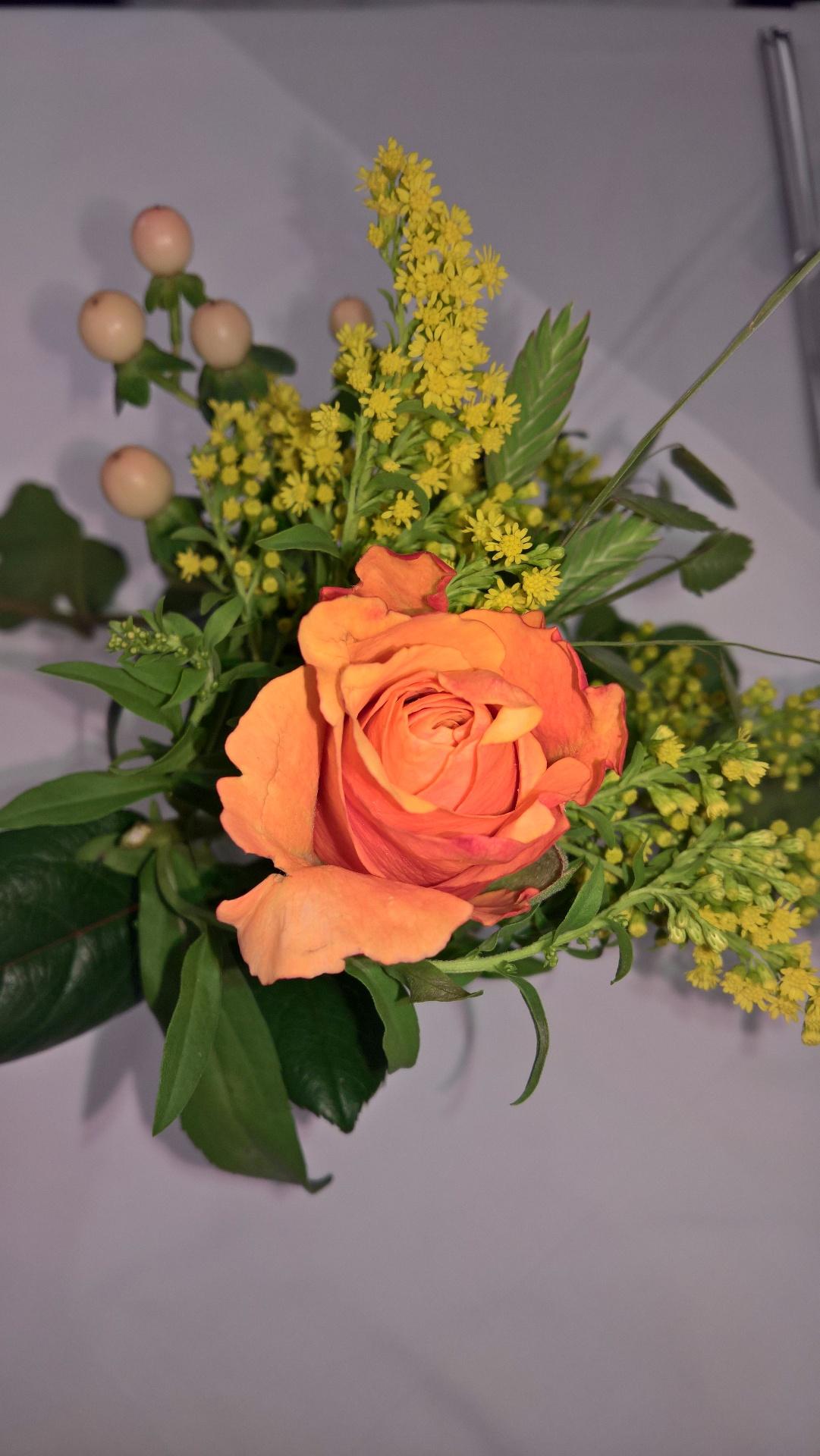Blumenschmuck Stilblüte