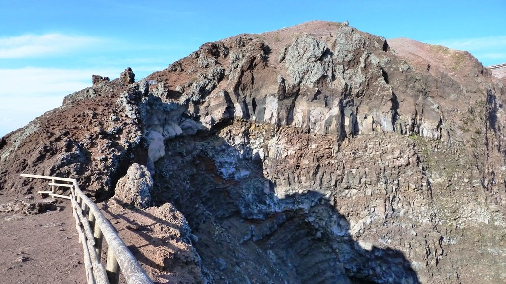 Am Nordende des Kraters