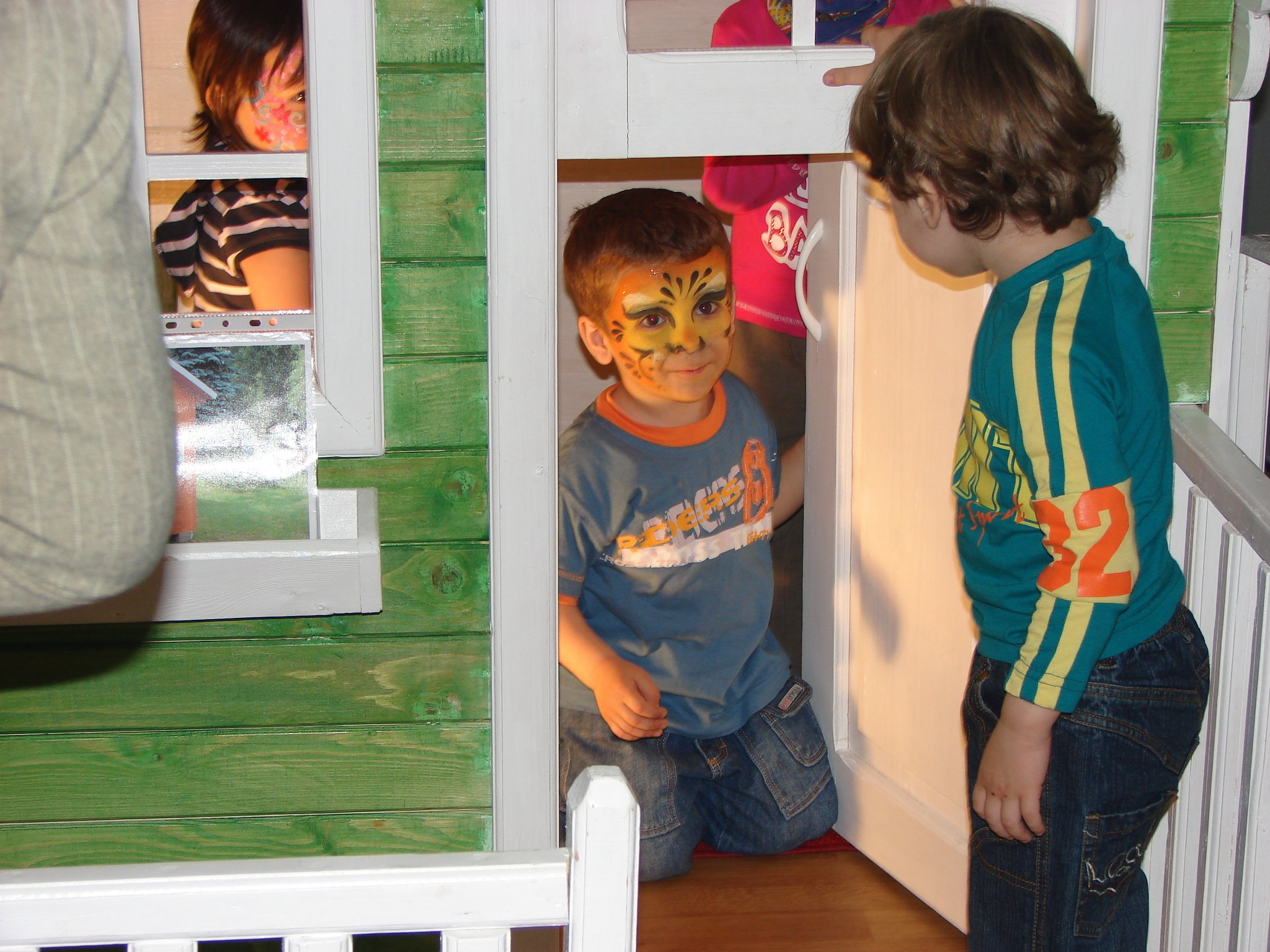 """Căsuța Clara - la Târgul """"Baby-Expo"""" în 2008"""