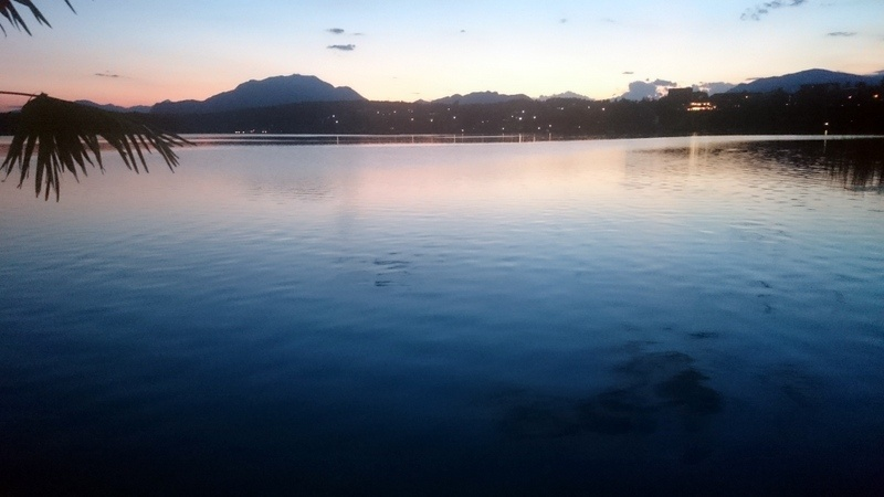 Abendstimmung am Faakersee
