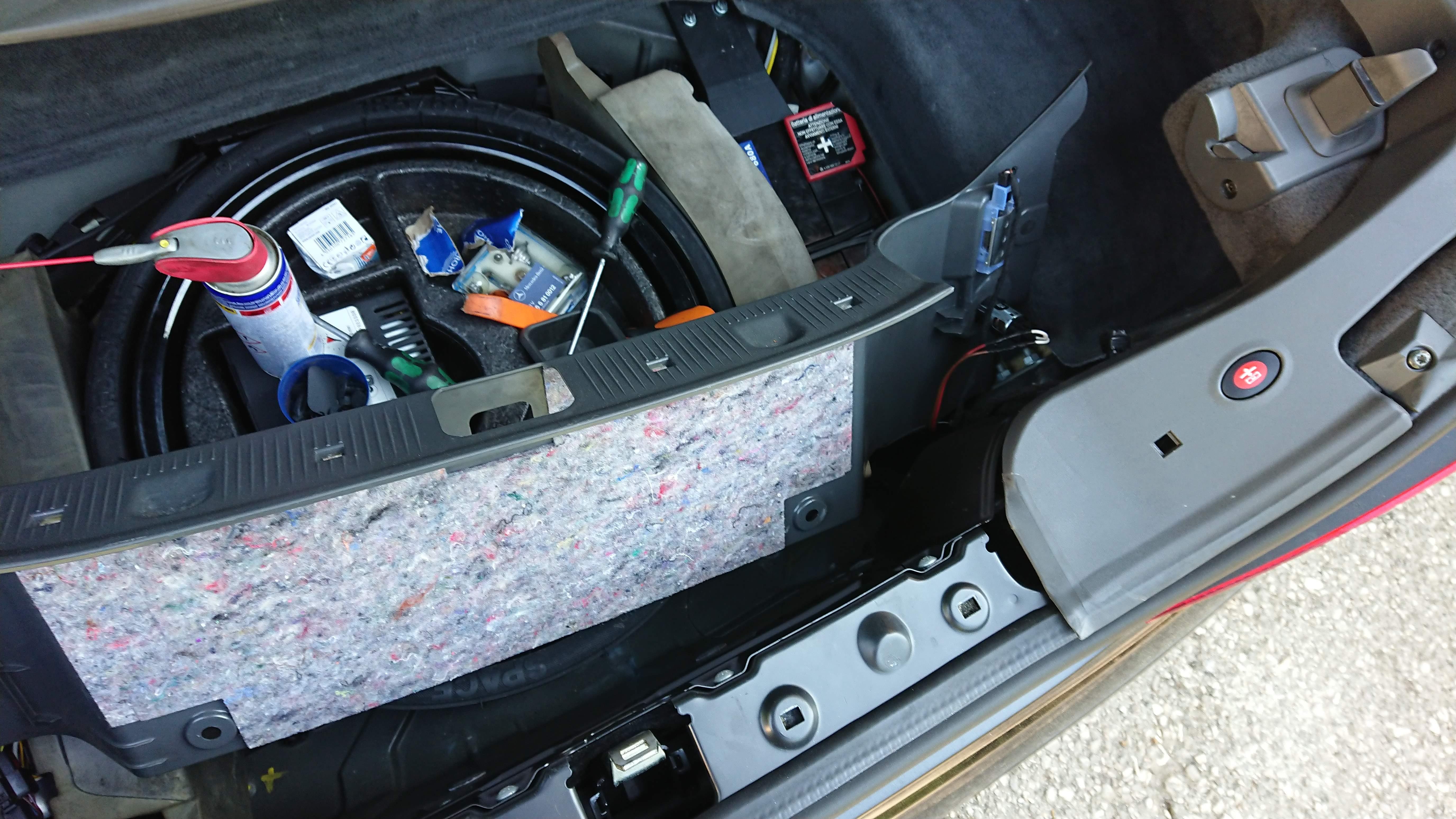 Direktanschluss 12V Steckdose Kofferraum