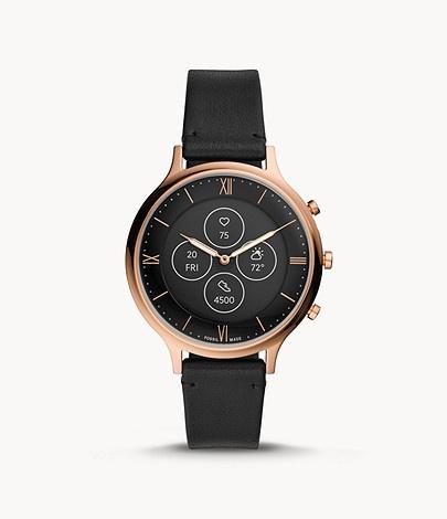 Damen-Hybrid-Smartwatch