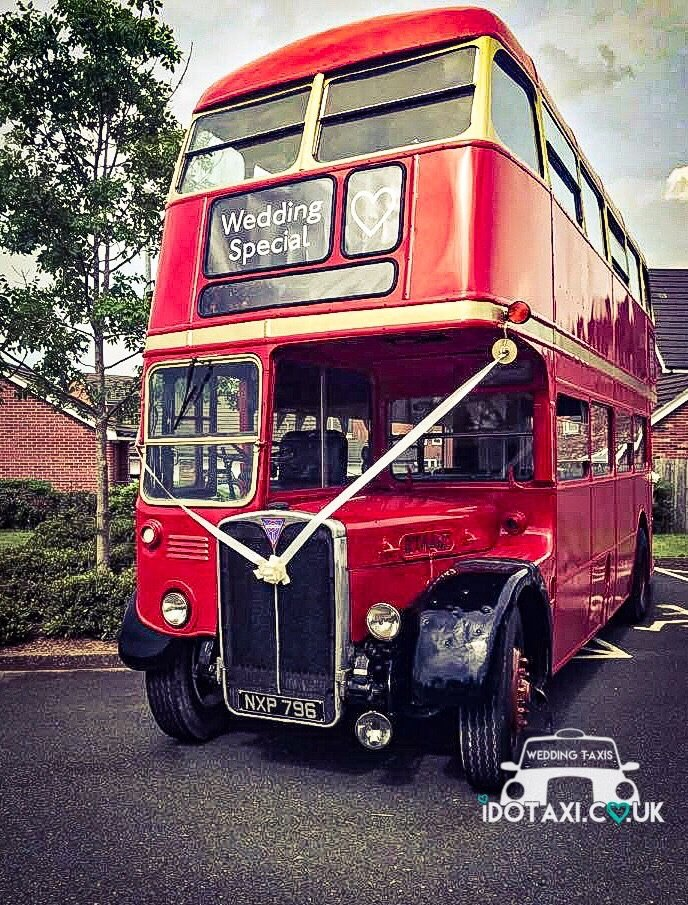 Red & Gold AEC RT Double Deck London Bus, 1956, Crewe 56 seater, all original ref C0010