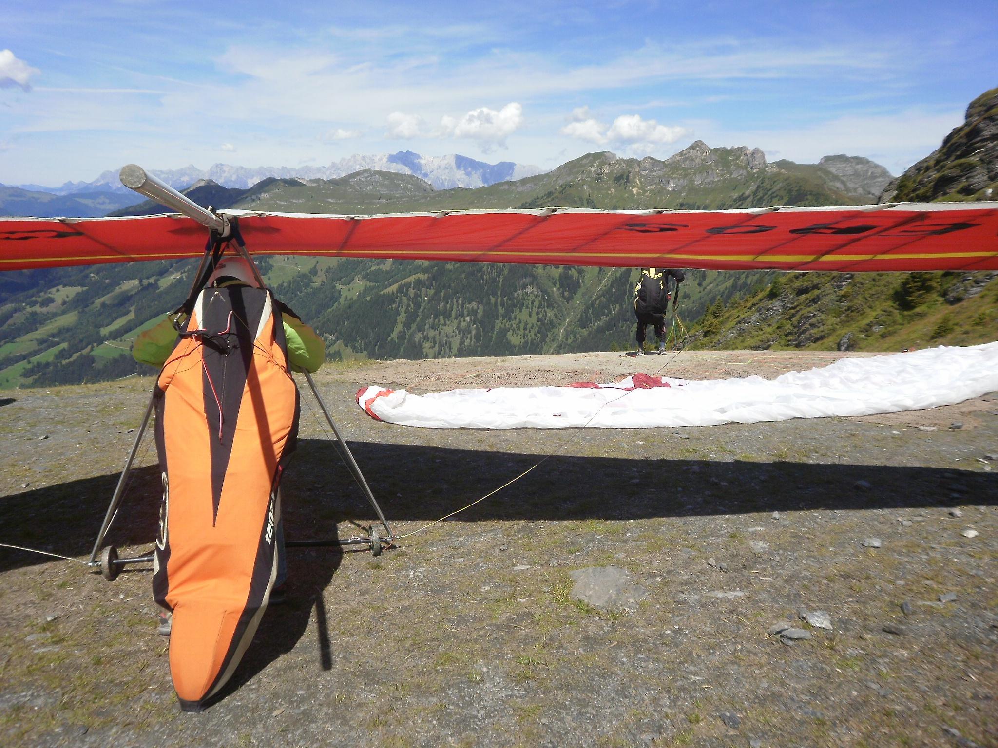 Paragliding und Drachenflug