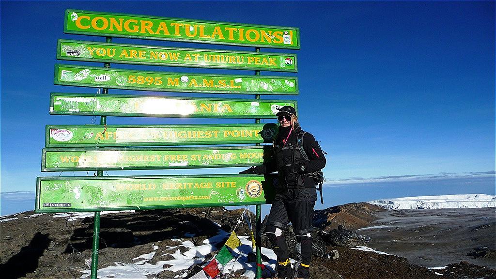 Kilimandjaro - 5.895 m - auf dem Dach Afrikas - Neujahr 2013
