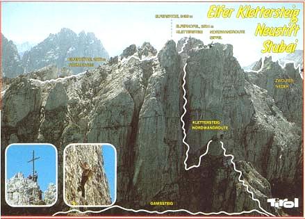 Klettersteig Nordkette : Elferhütte wanderzentrum elfer klettersteige