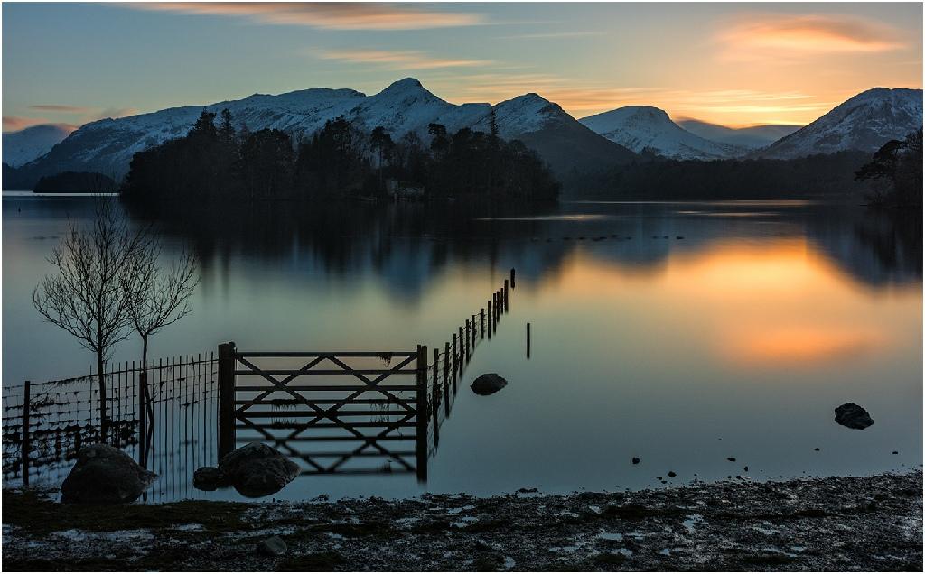 Highly Commended: Derwent Water Last Light (John White)