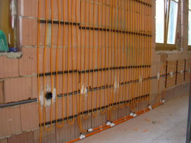 Wand- und Deckenheizung, Kapillarsystem Wand- und Deckenheizung, Kapillarsystem