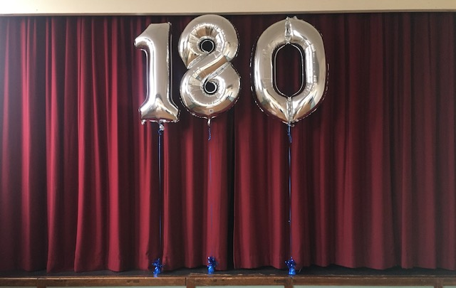 Saturday 4 September 2021  we celebrate the opening of the new extension as well as the hall's 180th birthday!