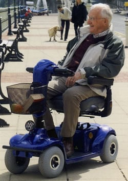 Fauteuil roulant scooter