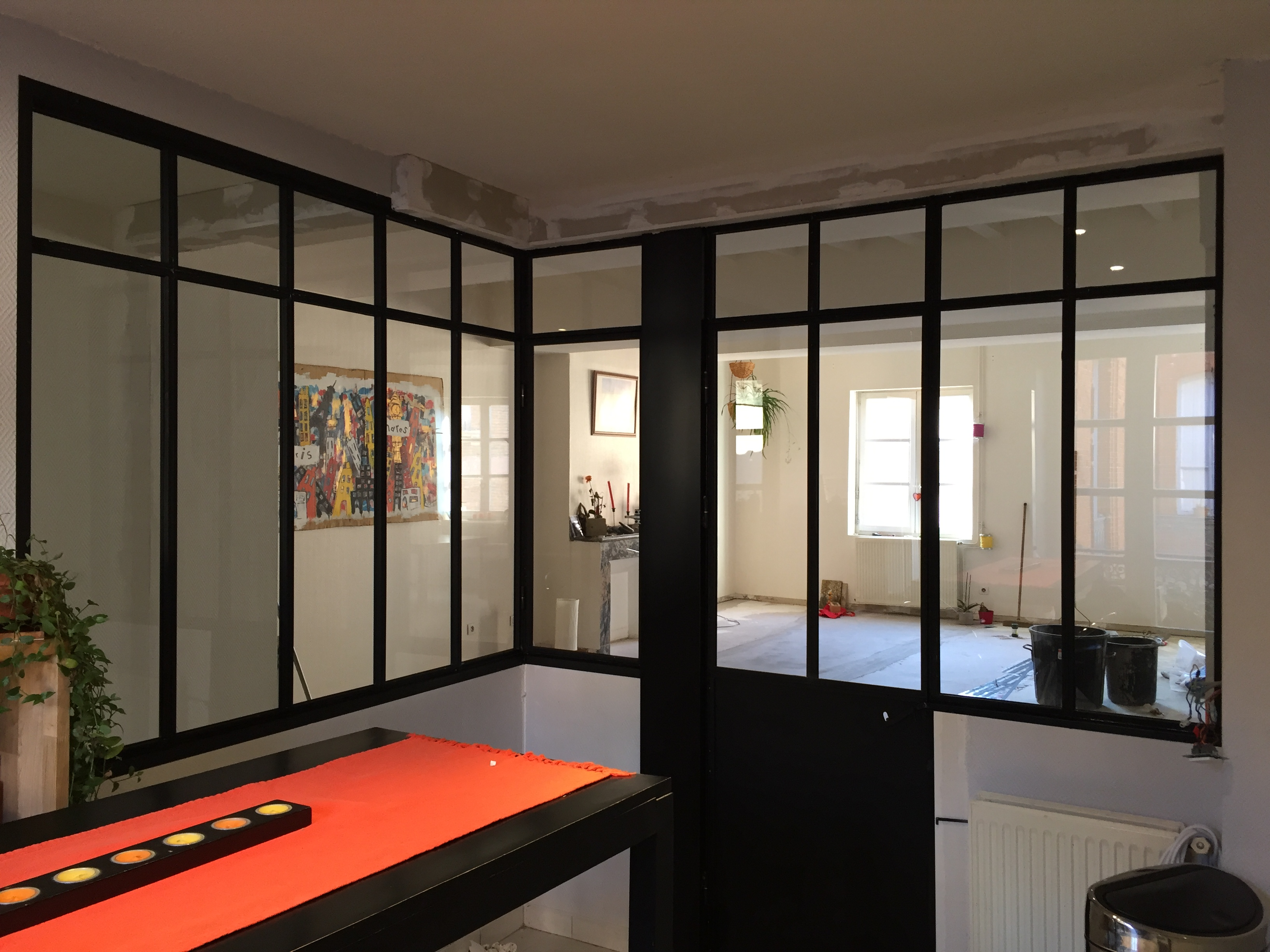 Verrière Acier Type Atelier fenêtres & tendances | verrière interieure type atelier d