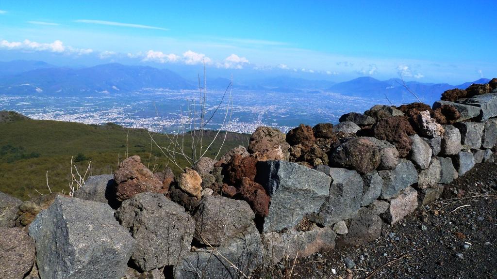 Blickrichtung Osten nach Pompeji
