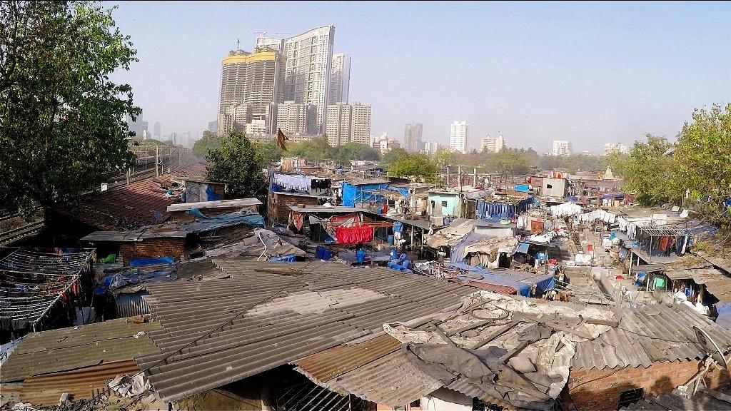 Dhobi Ghat Waschplatz Die größte menschliche Waschmaschine in ganz Asien.