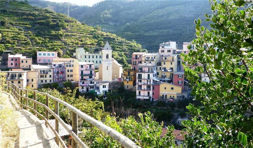Manarola könnte der älteste Ort der Cinque Terre sein. Die Grundsteinlegung der Kirche San Lorenzo geht auf das Jahr 1160 zurück