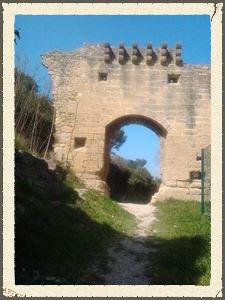 Porte du Fort - dernier vestige du village médiéval fortifié