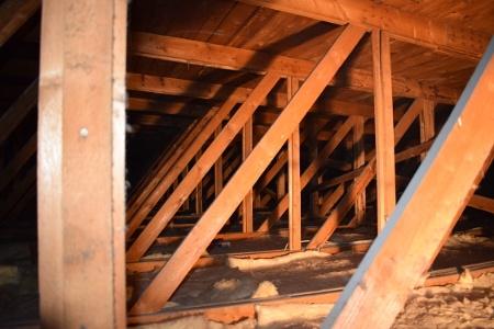 """Fachwerk Dachkonstruktion """"Brettelbinder"""""""