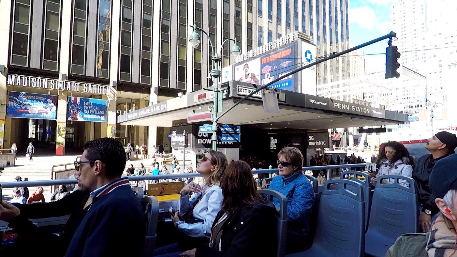 Eingang zum Madison Square Garden
