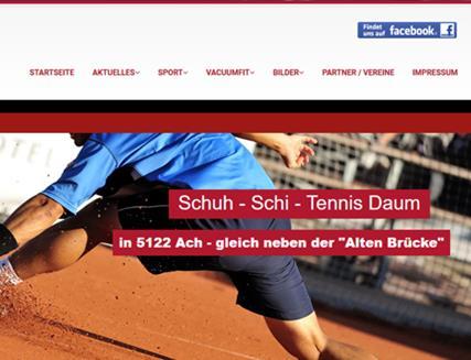 Schuh-Schi-Tennis Daum, Ach