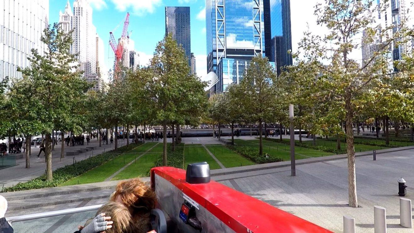 Grünanlage vor dem Ground Zero