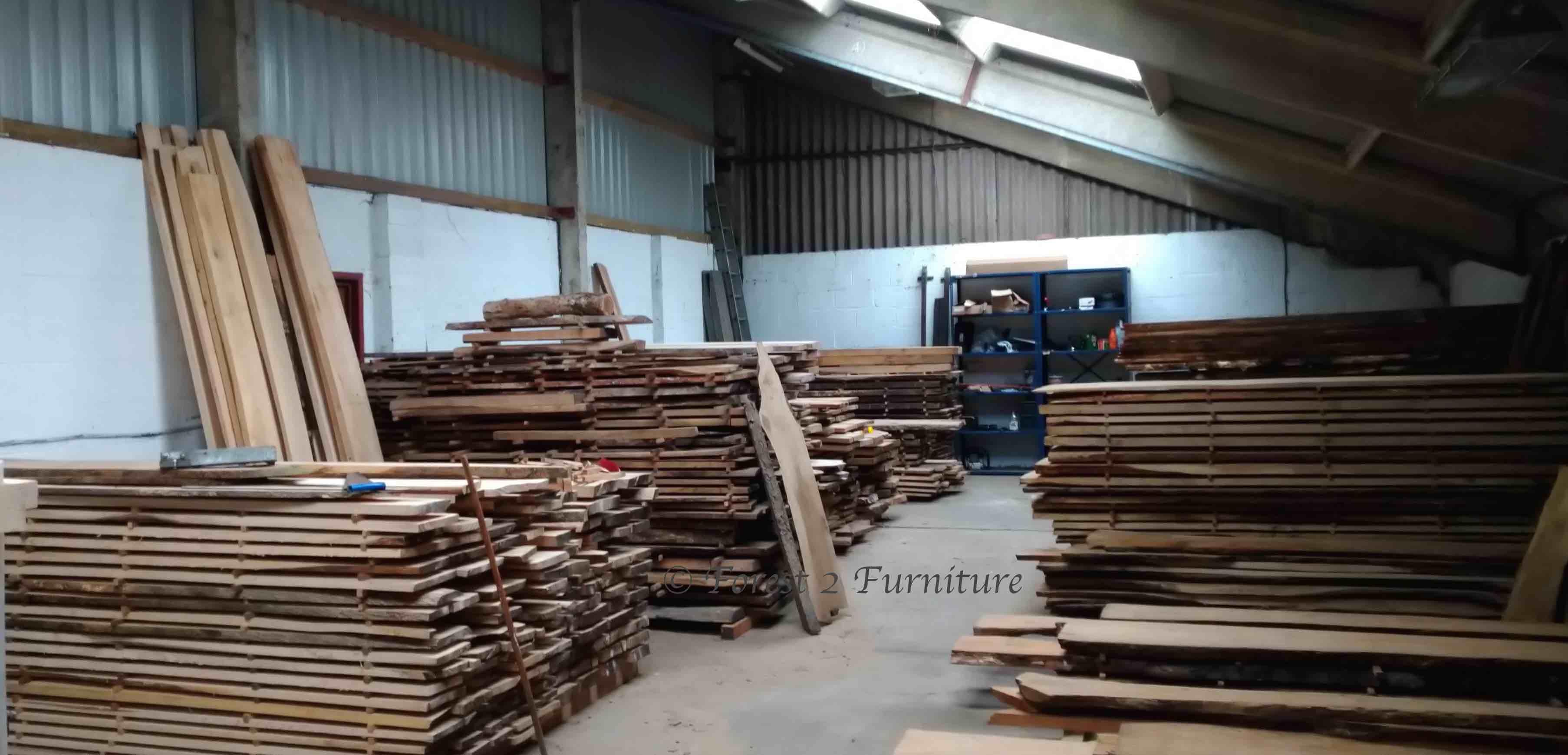 English timber sales banner