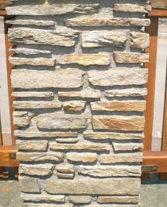 Pfeiler und Mauersteine